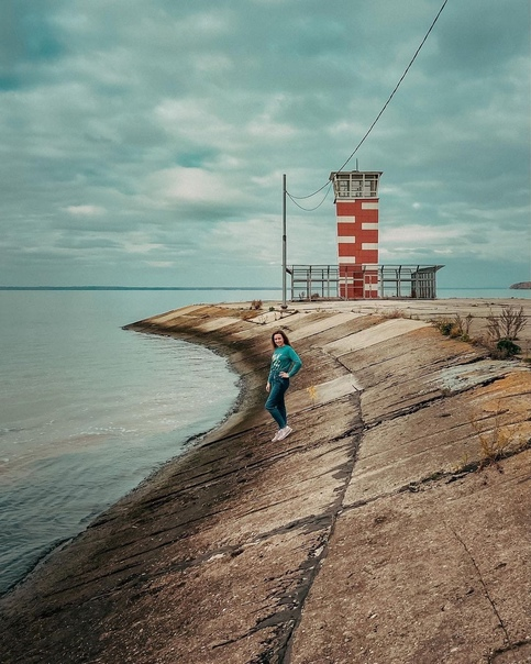 Маяки Горьковского моря!Самый известный маяк распо...