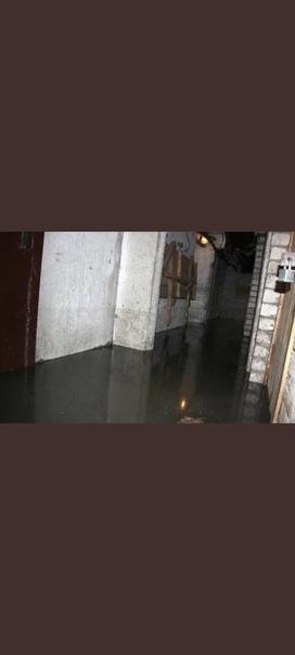 Подвал по Юбил. 6 затоплен, вода из подвала уже вы...