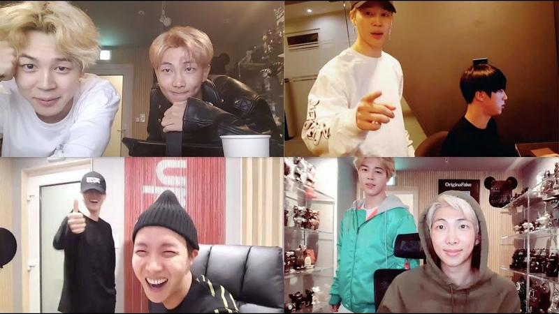 [방탄소년단지민] 형들 VLIVE에 온 지민이 모음 BTS JIMIN during Hyungs VLIVE broadcast (ENG SUB)