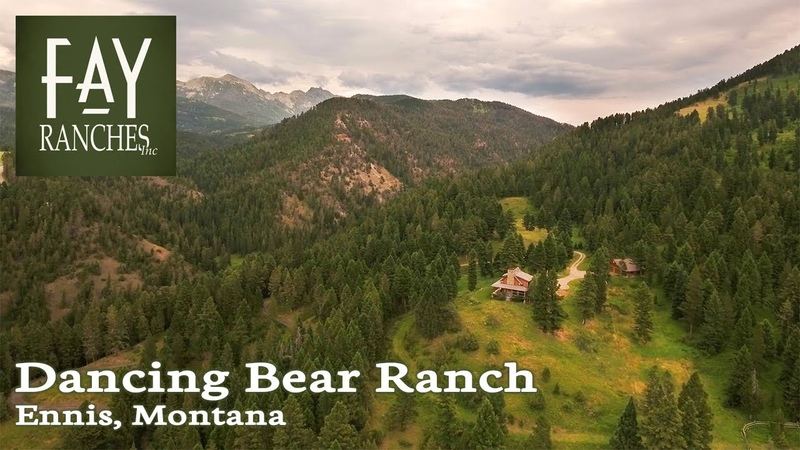 Montana Mountain Retreat For Sale 480± Acres Dancing Bear Ranch Ennis MT
