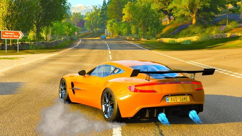 Forza Horizon 4 822HP Aston Martin One 77 Logitech Steering Wheel Shifter Gameplay