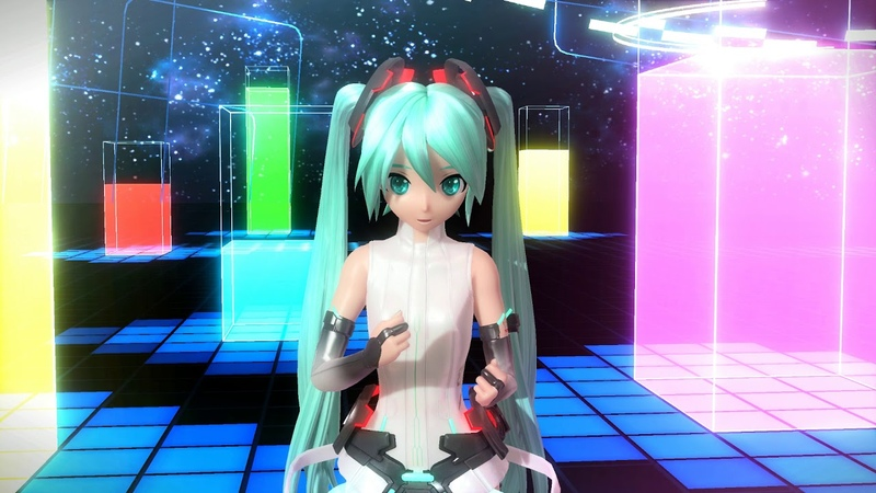 1080p60fps Project DIVA AC FT 『PV Mode』Melt F2nd edition