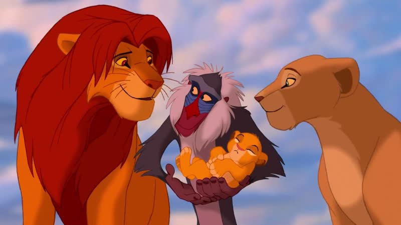 Мультфильм Королев Лев 1994 в прямом эфире
