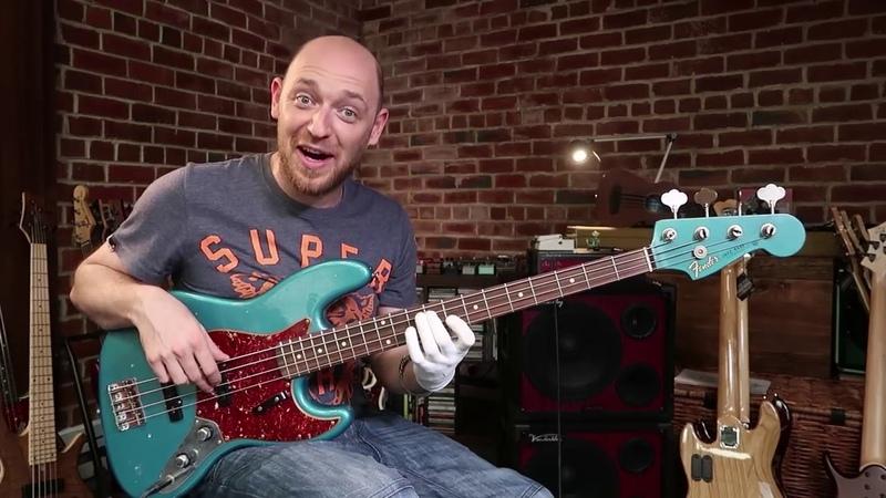Как легко ориентироваться на грифе концепция Gary Willis бас гитара урок