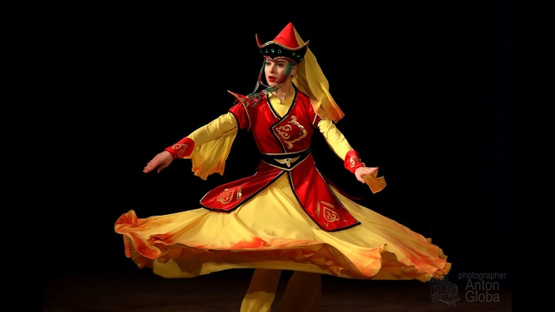 Бурятский танец Зурхэнэй гал Анс Школьные годы Buryat dance Zurhenei gal Ens School years