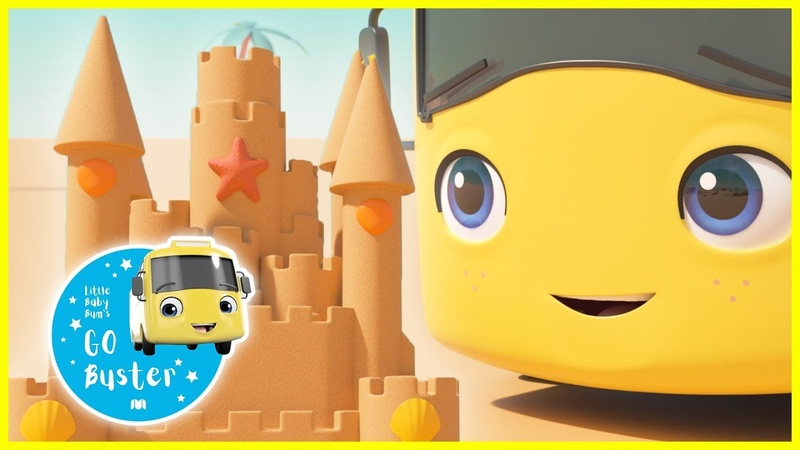 Learn How To Build a Sandcastle ABCs and 123s GoBuster Nursery Rhymes Single