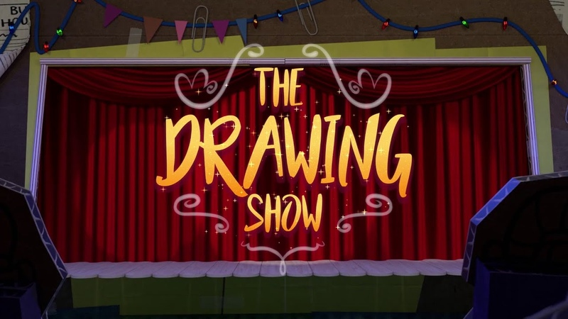 The Drawing Show Series 2 *FULL EPISODE* 'Foot'