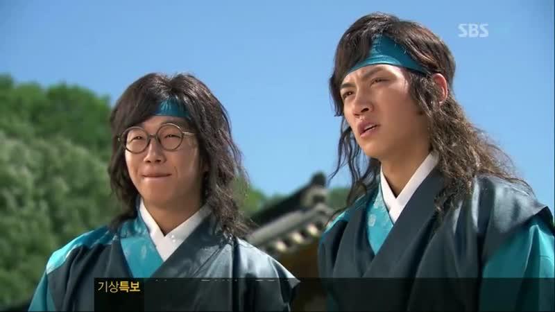 Эпизод из дорамы Воин Пэк Тон Су 7 серия Не успели прийти на службу во дворец