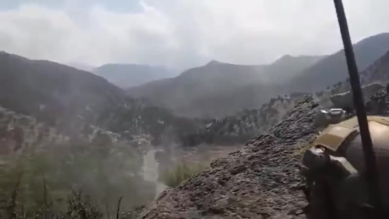 Green Berets Engage IS-KP With Gustaf And Machine Guns In Afghanistan