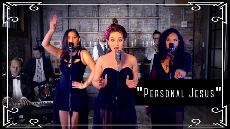 "Personal Jesus"" Depeche Mode Cover by Robyn Adele ft Brielle Von Hugel and Virginia Cavaliere"