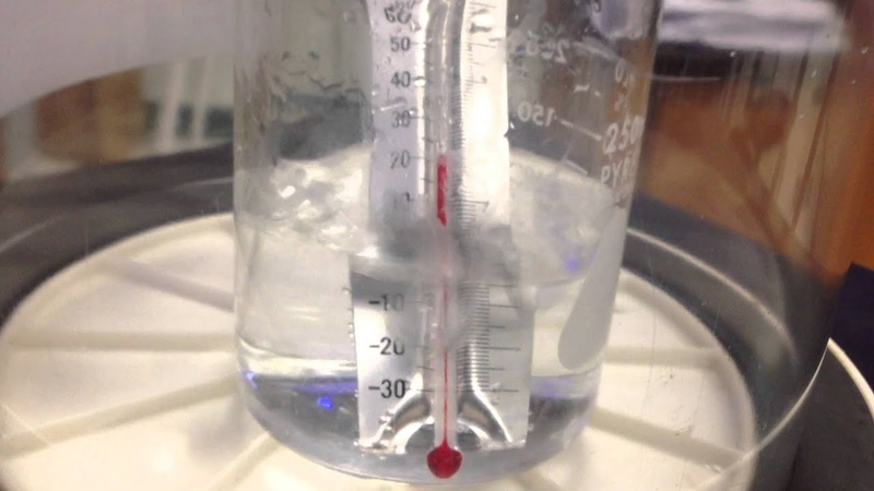 Boiling cold water In a Vacuum Chamber
