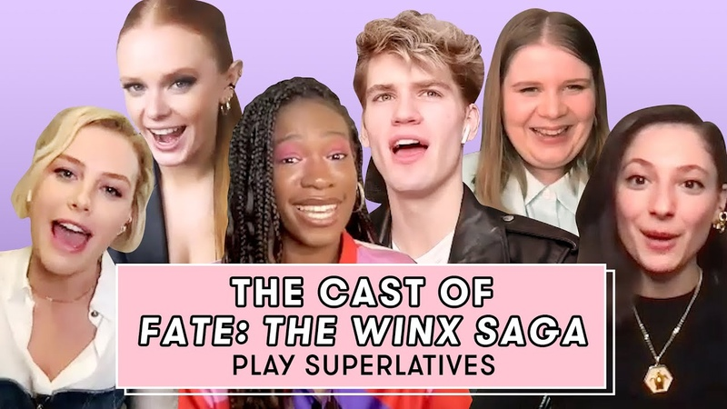The Cast of Fate The Winx Saga Talk Blooms Eyebrows And Flirting | Superlatives | Seventeen