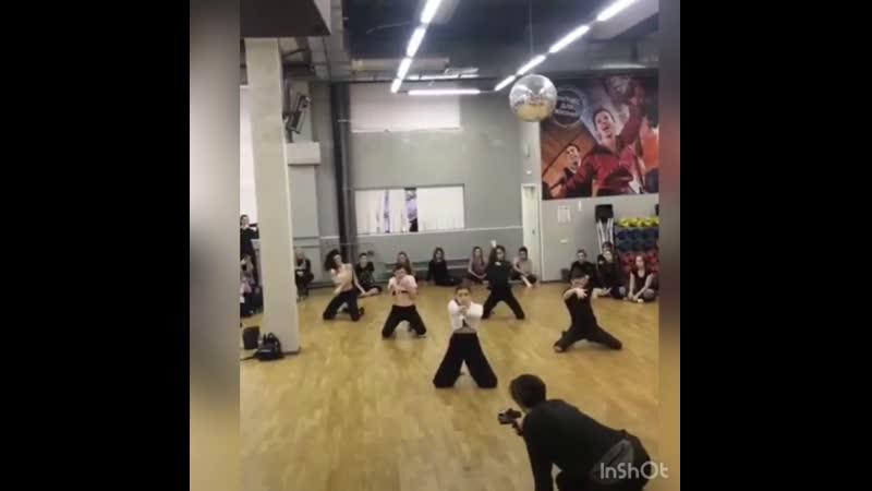 мастер класс Юлианны Кобцевой Партерная техника strip choreography