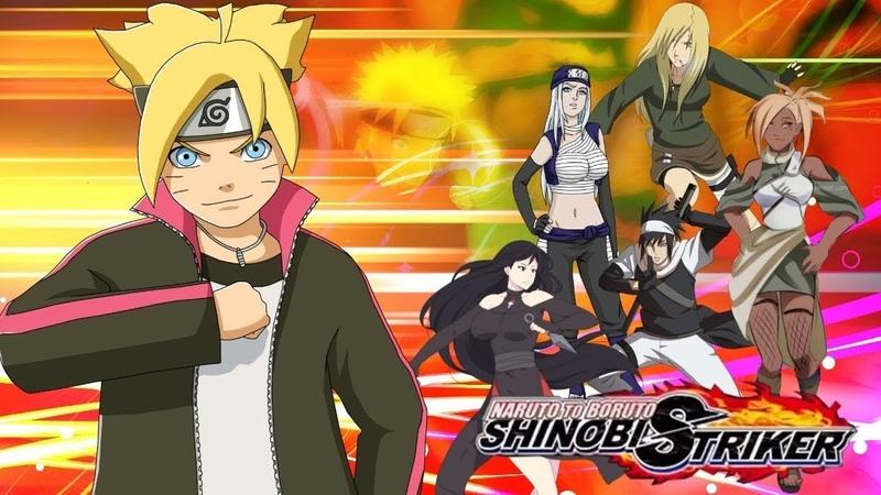 БИТВА ШИНОБИ! Naruto to Boruto Shinobi Striker