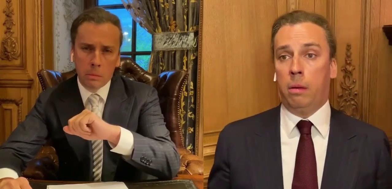 Сын Жириновского обвинил актера Миронова в желании «подлизнуть власти» за критику юмориста Галкина
