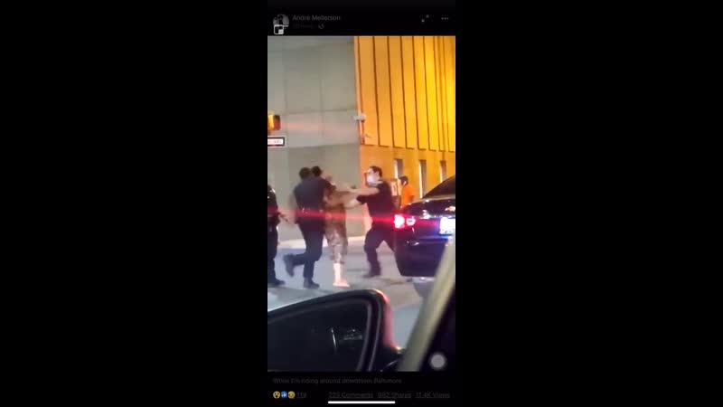 Полицейский прописывает фаталити fixter
