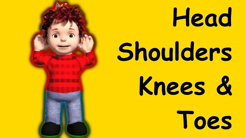 Head Shoulders Knees and Toes Family Sing Along Muffin Songs