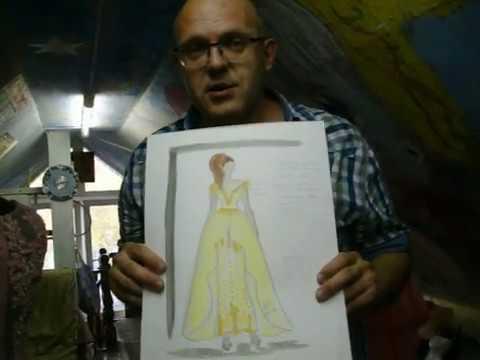 Лилии зацветут в доме моделей одежды Ирина SEREBRYANNAYA