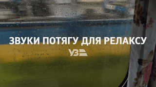 ASMR потяг від Укрзалізниці | Звуки потяга для релаксу, сну, роботи та навчання
