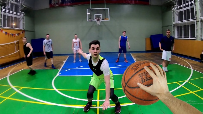 Баскетбол от первого лица Баскетбольная тренировка Basketball first person