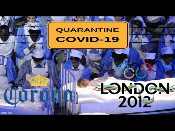Corona Madness It's All Planned Folks Larry Crowne 2012 2016 Olympics Lady Gaga NWO