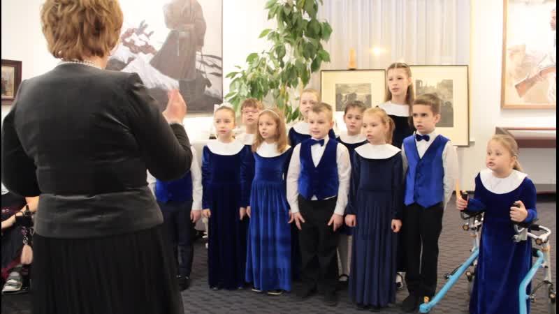 Рождественская песня Младший хор Cantica 30 ноя 2019