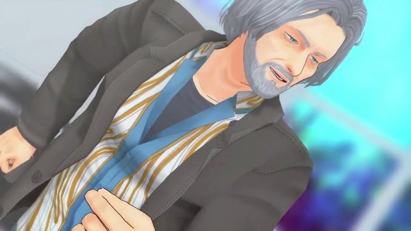 MMD DBH Detroit Become Human エンゼルフィッシュ Hank Connor