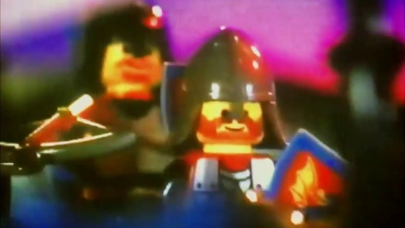 Black Knights and Wolf People Short Lego System Castle 1992