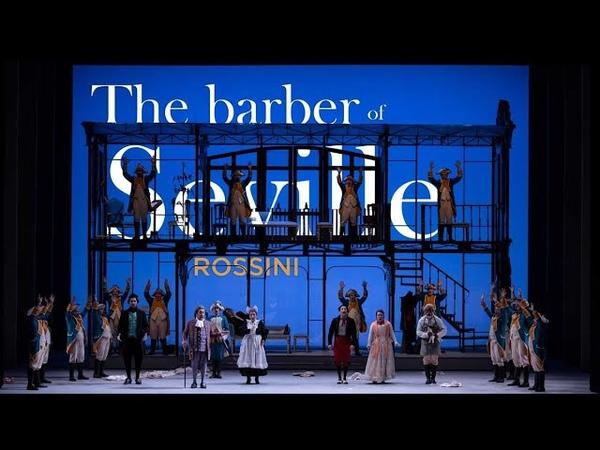 THE BARBER OF SEVILLE Rossini Teatro Municipal de Santiago