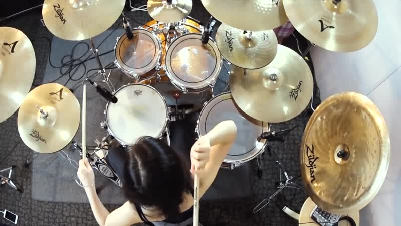 METALLICA Hardwired drum cover by Ami Kim 23