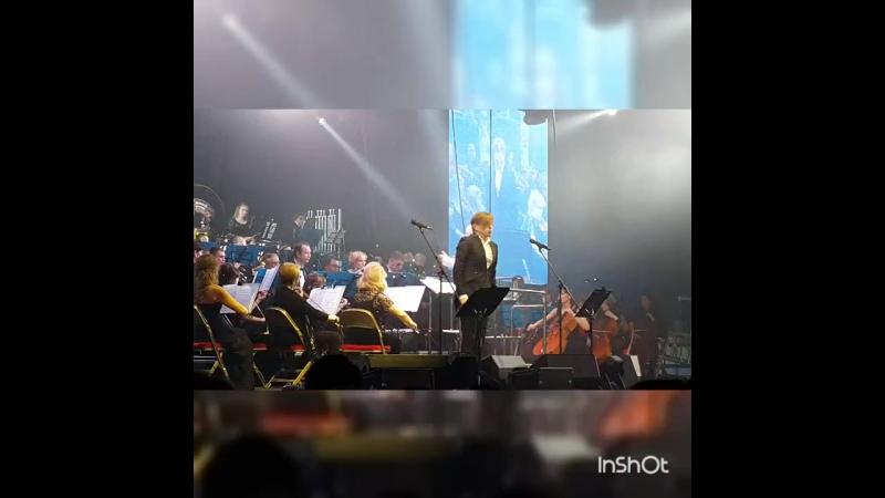 Дальневосточный симфонический оркестр играл на странах души, виртуозная игра, харизматичный дирижер👍 БИ-2. Хабаровск.Платинум Ар