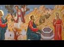 Неделя 5 я по Пасхе О самаряныне Божественная литургия из Покровского собора