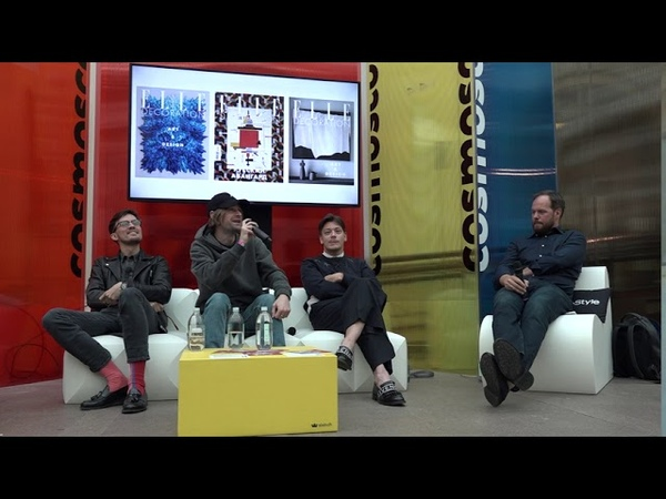 Cosmoscow Медиафорум Interview