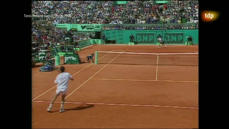 FINAL de Roland Garros 1994 Bruguera vs Berasategui Teledeporte 24 03 20 tdp dvr 4000 1080p aac edit