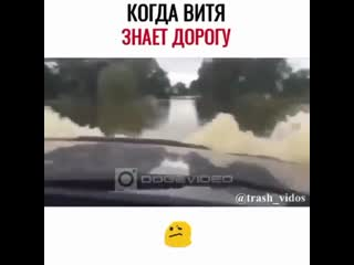 Когда Витя знает дорогу