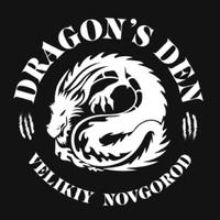 Логотип Джиу-джитсу / Dragon's Den BJJ team / В.Новгород