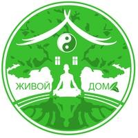 Логотип Живой Дом ретритный центр на Увильдах