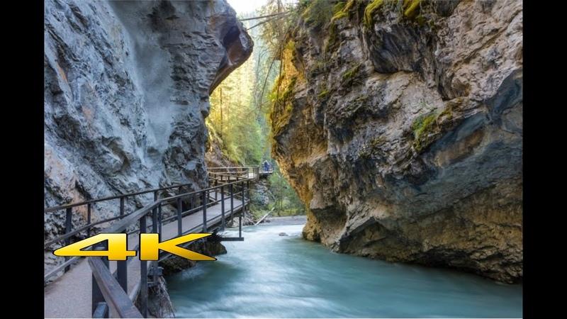 Johnston Canyon @ Banff National Park 4K