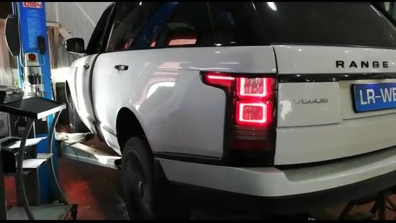 Прожиг фильтра DPF на Range Rover L405