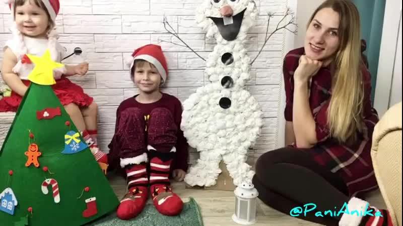 Снеговик Олаф из мультфильма Холодное Сердце