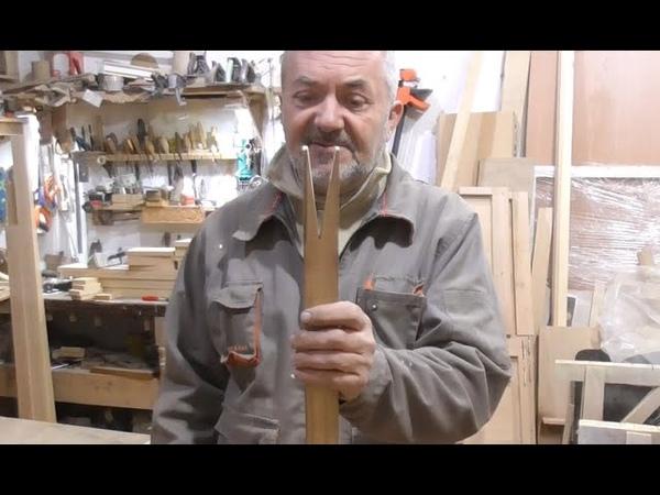 Изготовление бильярдного кия часть 1 Приспособление для шафта