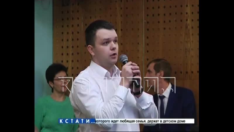 Коммунальные страсти на встрече мэра города с жителями Московского района
