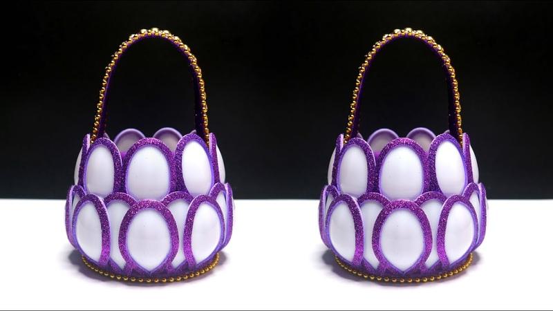 Beautiful Plastic Spoon Basket Ide Kreatif Keranjang dari Sendok Plastik