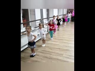 Так проходит наше танцевальное детство!