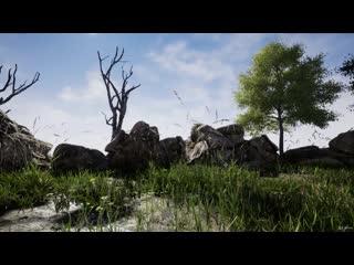 Создание ультра-реалистичного Наружного окружения в Unreal Engine