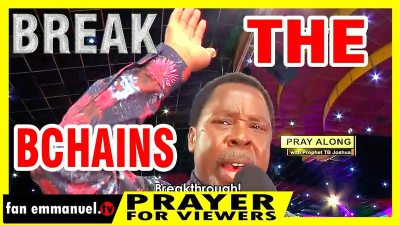 Break The Chains In your life not by power nor by might but the Spirit of the Lord FanEmmanuelTv