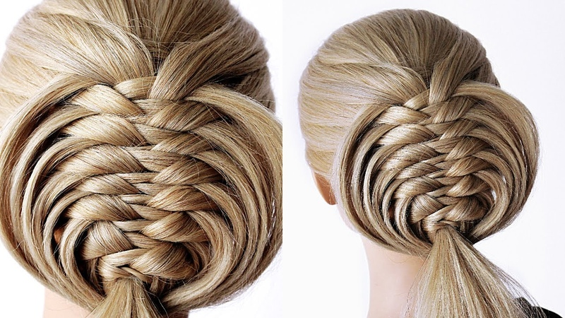 😱 EASY Knotted Braid 😱 Super simple perfect for long medium shoulder length hair