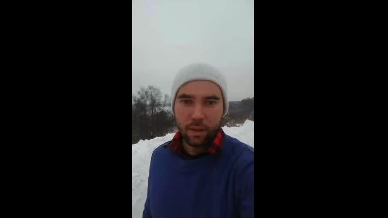 Лыжный поход к горе Воттоваара.mp4