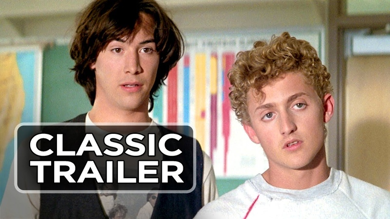 Bill Ted's Excellent Adventure Official Trailer 1 Keanu Reeves Movie 1989 HD