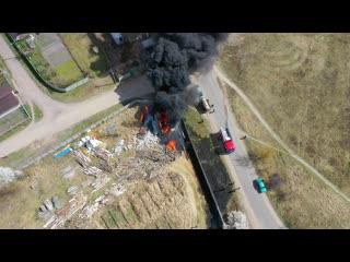 Спасатели ликвидировали пожар в Бресте (Гершоны)